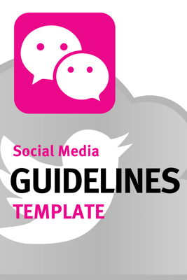 Social Media Policy Template from page.upthereeverywhere.com