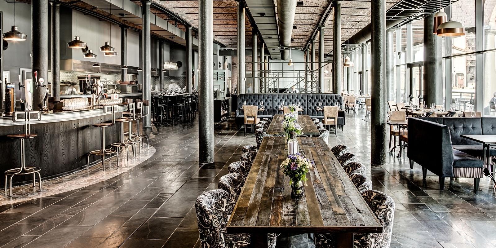 Titanic-Liverpool-Lobby Restaurant